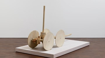Contemporary art exhibition, Cy Twombly, Sculpture at Gagosian, Grosvenor Hill, London