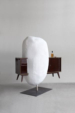 Bar (Drinking Sculptures) by Erwin Wurm contemporary artwork