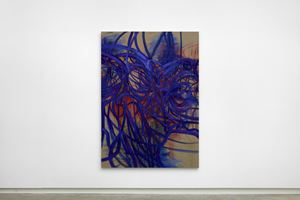 Reader by Nigel Cooke contemporary artwork