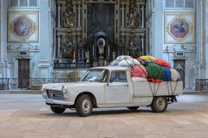 Bottari Truck - Migrateurs by Kimsooja contemporary artwork
