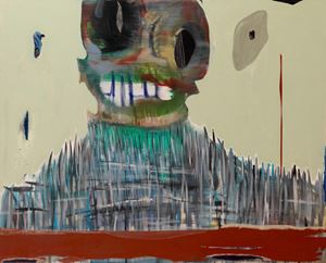 Overlooking Gaze by Manuel Mathieu contemporary artwork