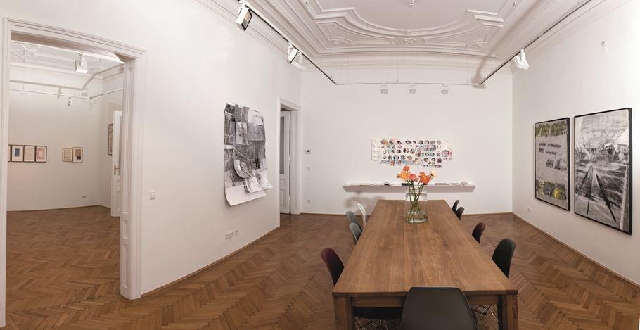 Exhibition view: Chris Reinecke, Beck & Eggeling International Fine Art, Vienna (23 February–21 April 2018).Courtesy Beck & Eggeling International Fine Art.