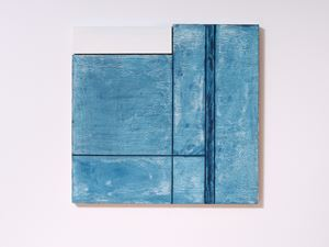 Blue Interior (with Window) by James Ross contemporary artwork