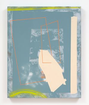 Hotline by Tira Walsh contemporary artwork