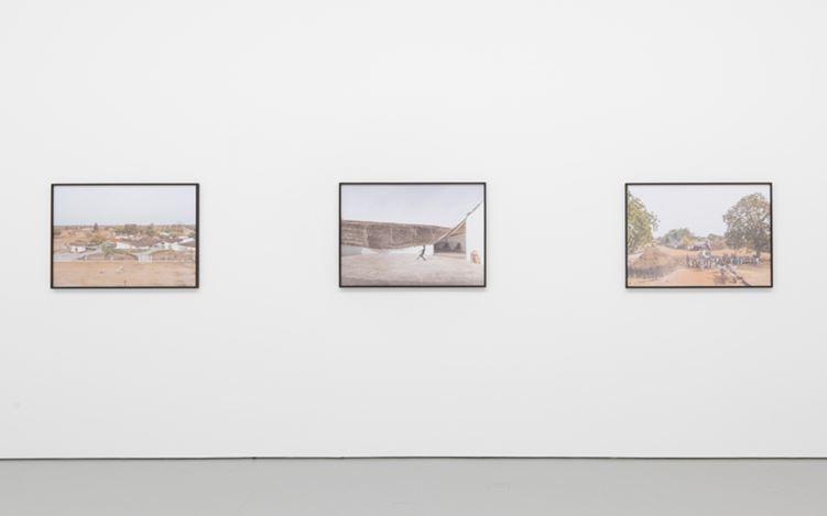 Exhibition view: Group Exhibition,Thread, David Zwirner, 19th Street, New York (27 June–21 July 2017). David Zwirner, New York.