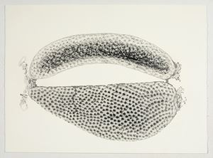 The Sound of Water 5 by Manisha Parekh contemporary artwork works on paper, drawing