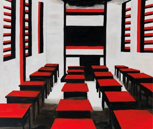 Classroom for the Revolutionaries《教室》 by Zhao Gang contemporary artwork