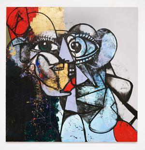 End of Reason by George Condo contemporary artwork