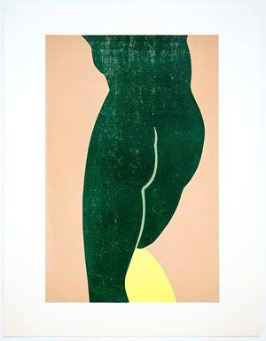 Yellow Slip by Gary Hume contemporary artwork