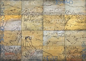Nature Speaks: FV by Imants Tillers contemporary artwork