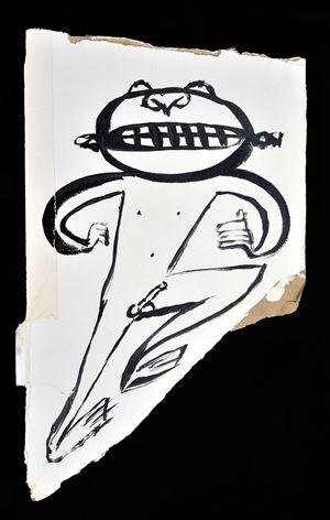 Autoportrait avec pouce opposable XXIII by Abraham Cruzvillegas contemporary artwork