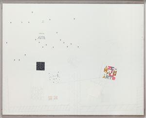 A tutto tondo mettere al mondo il mondo by Alighiero Boetti contemporary artwork