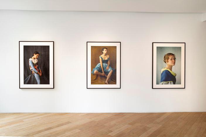 Exhibition view: Frank Horvat, Vraies Semblances, 1981 - 1986, Galerie Lelong & Co., 38 Avenue Matignon, Paris (18 June–24 July 2020). Courtesy Galerie Lelong & Co. Paris.