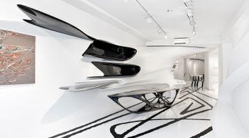 Contemporary art exhibition, Zaha Hadid, ABSTRACTING THE LANDSCAPE at Galerie Gmurzynska, Paradeplatz 2, Switzerland