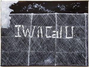 I wil cal u by Kristin Stephenson (Hollis) contemporary artwork