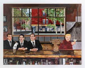The Sip In by Hernan Bas contemporary artwork