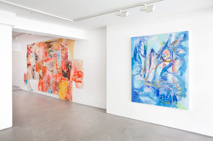 Exhibition view: Francesca Mollett, Wild Shade, Informality, Henley on Thames (29 April–29 May 2021). Courtesy Informality.