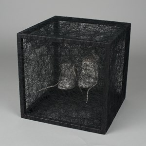 State of Being (Children's Shoes) by Chiharu Shiota contemporary artwork