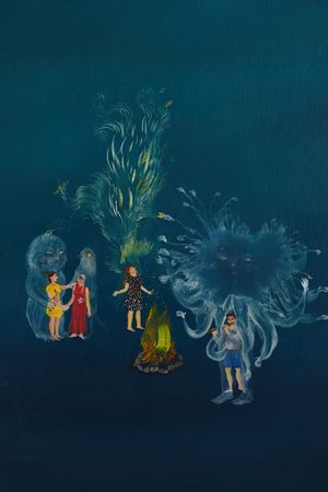 Anima Magnétique by Karine Rougier contemporary artwork