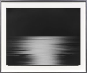 North Pacific Ocean, Ohkurosaki by Hiroshi Sugimoto contemporary artwork photography