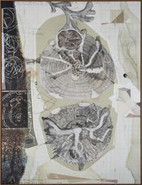 Palindrome/Anagram Painting 11 by Jitish Kallat contemporary artwork painting, works on paper, drawing