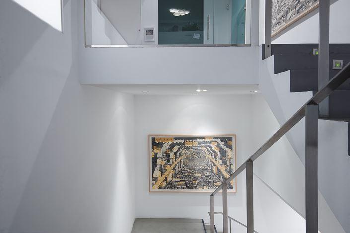 Exhibition view: Dagoberto Rodríguez, Visión de Túnel, Sabrina Amrani Gallery, Madera, 23, Madrid (11 June–27 July 2020). Courtesy Sabrina Amrani Gallery.