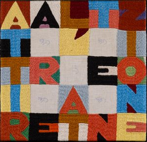 Attract Attention (ATTIRARE L'ATTENZIONE) by Alighiero Boetti contemporary artwork