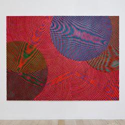 Exhibition view: John Aslanidis, Sonic Network No. 17, Gallery 9 (27 September–21 October 2017). Courtesy Gallery 9.