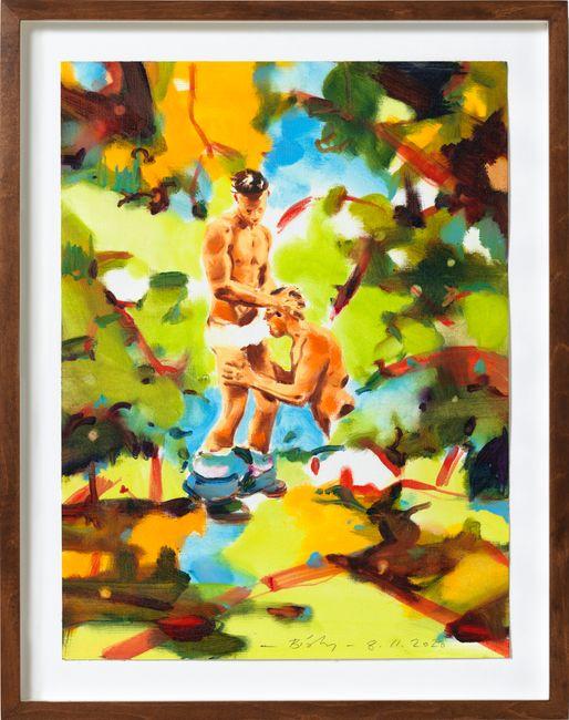 Selva by Norbert Bisky contemporary artwork