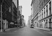 Broadway at Prince Street, New York 1978 by Thomas Struth contemporary artwork photography