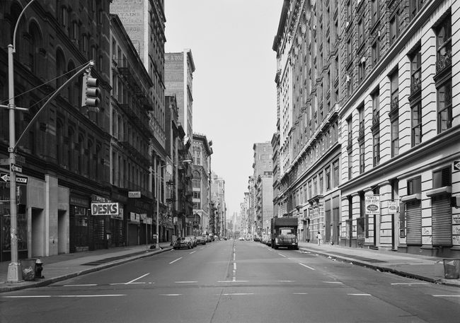 Broadway at Prince Street, New York 1978 by Thomas Struth contemporary artwork