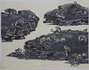 Emerald Ground by Yang Jiechang contemporary artwork