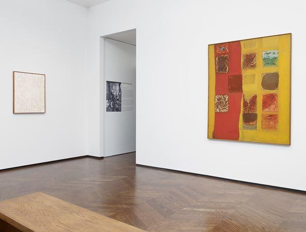 Exhibition view, Chung Sang-Hwa, Excavations, 1964-78, Lévy Gorvy, London (28 February–25 April 2020). Courtesy Lévy Gorvy. Photo: Stephen White.