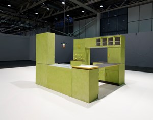 Performance of two lonely objects that have a lot in common by Tobias Rehberger contemporary artwork