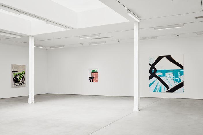 Exhibition view: Wilhelm Sasnal, Sadie Coles HQ, Kingly Street, London (3 September–17 October 2020). © Wilhelm Sasnal. Courtesy Sadie Coles HQ, London.Photo: Robert Glowacki.