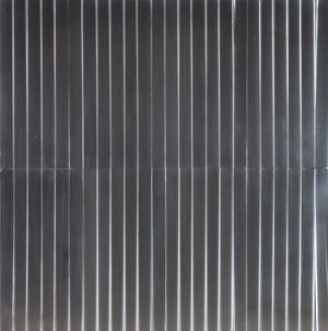 Superficie a testura vibratile by Getulio Alviani contemporary artwork