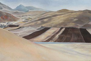 Qilian mountains 2 祁連之二 by Lu Liang contemporary artwork