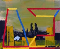 Foundation by Julian Hooper contemporary artwork painting