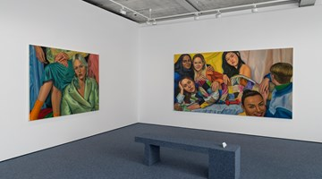 Contemporary art exhibition, Chloe Wise, Not That We Don't at Almine Rech, London