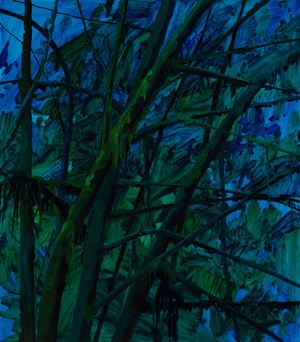 Branches and Night by Claire Sherman contemporary artwork