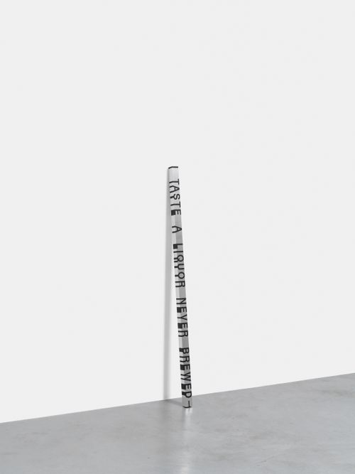 Key and Cue, No. 214 (I TASTE A LIQUOR) by Roni Horn contemporary artwork sculpture