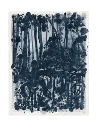 Indigo forest 10 by Shinro Ohtake contemporary artwork print