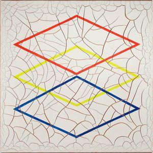 Three Diamonds by Adriana Varejão contemporary artwork