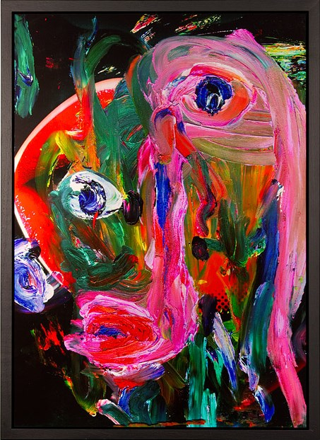 Fuckface by TV Moore contemporary artwork