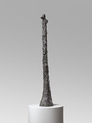 Vogelmensch (Bird-Being) by Leiko Ikemura contemporary artwork