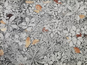 Fallen Leaves and Weeds by Yukiko Suto contemporary artwork