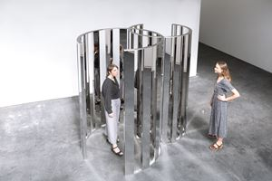 Intersecting Circles by Jeppe Hein contemporary artwork