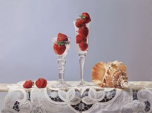 Summer Elegance by Mi Qiaoming contemporary artwork