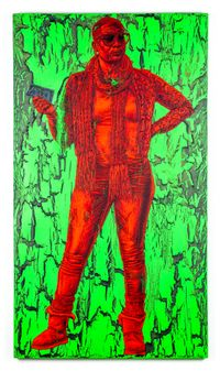 Jade by Alfred Conteh contemporary artwork painting, works on paper, sculpture