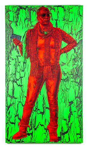 Jade by Alfred Conteh contemporary artwork